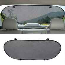 Auto Rear Sun Shade Vehicle Shield Visor Protection Back Car Window Shade Mesh Sunshade Screen Heat Insulation UV Protection