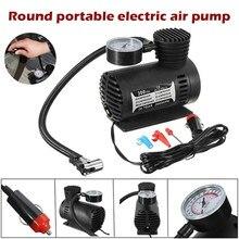 Compresseur d'air électrique portable pour pneus de voiture, 12V, pour moto, vélo