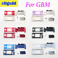 cltgxdd Controller 4 in 1 metal Housing Shell Pack With Screwdriver For Nintendo GameBoy MICRO G B M Case Cover replacement