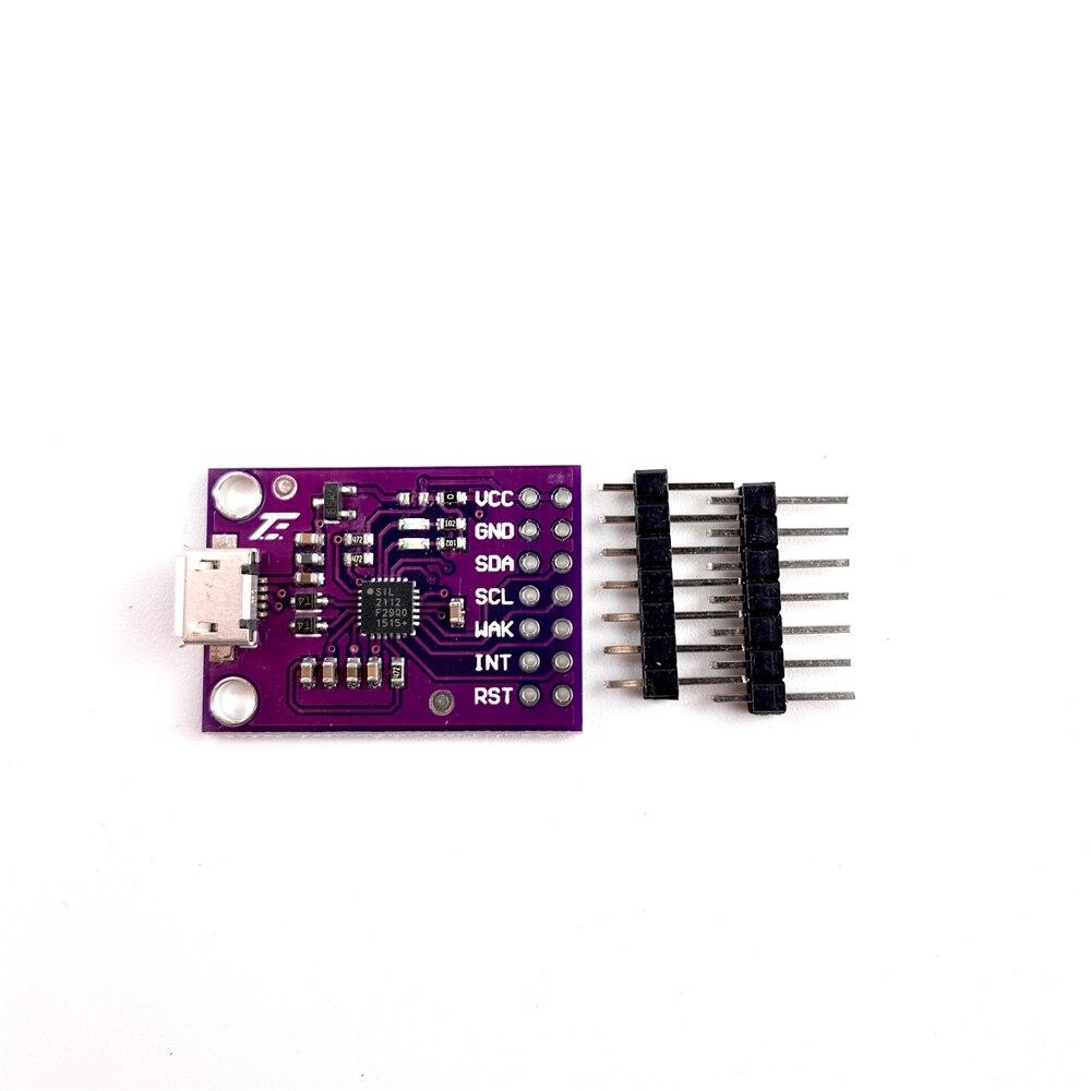285.08руб. 5% СКИДКА|CP2112 плата отладки USB к SMBus igc модуль связи 2,0 MicroUSB 2112 оценочный комплект для CCS811 модуль датчика|Интегральные схемы| |  - AliExpress