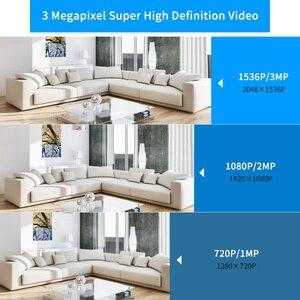 Image 4 - Hiseeu caméra de sécurité Ultra HD 3MP 1080P IP WiFi, sécurité domestique sans fil, Baby vidéosurveillance, suivi automatique