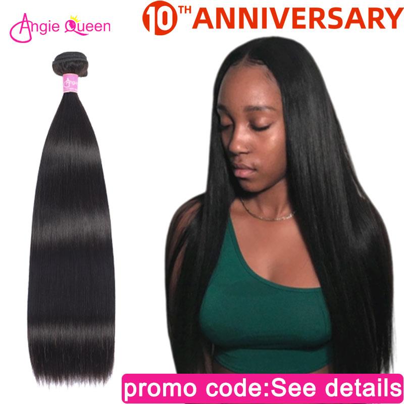 Straight hair bundles Peruvian hair bundles non Remy Hair Bundles weaves 100% Human Hair bundles Weft straight bundle 24 26 inch