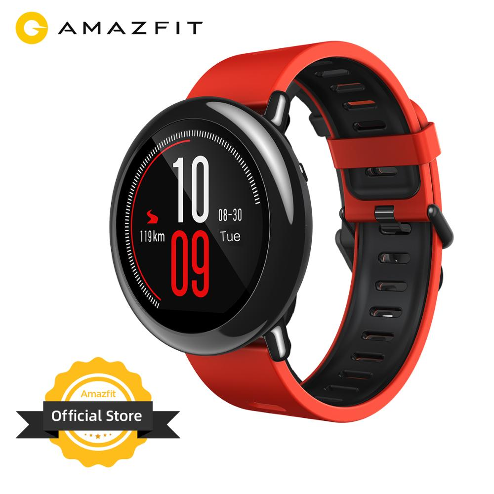 New Amazfit Pace Smartwatch Amazfit Smart Watch Bluetooth Notification GPS Information Push Heart Rate Monitor for Android Phone(China)