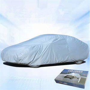 Image 2 - 170T Waterproof Full Car Covers Outdoor sun uv protection dust rain snow protective for Ford universal focus fiesta taurus