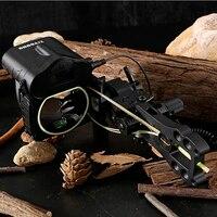 Новый пятиконтактный Быстрый регулировочный прицел дальность прицеливания лук лазерный дальномер для охоты развлечения стрельба из лука