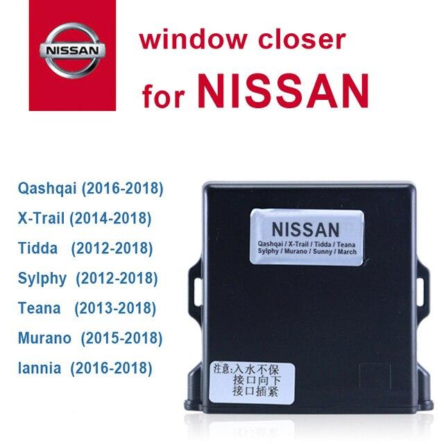 Samochodowe urządzenie do zamykania okien samochodowych dla nissana Qashqai x trall Tiida Teana lannia Murano