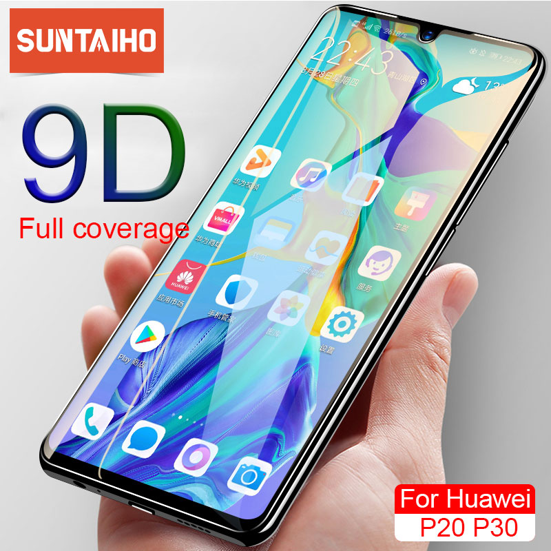 Suntaiho Tempered <font><b>Glass</b></font> For <font><b>Huawei</b></font> P30 P20 P10 Lite Screen Protector Film For <font><b>Honor</b></font> <font><b>7a</b></font> 7c 7 <font><b>Huawei</b></font> P30 P20 Pro Protective <font><b>Glass</b></font> image