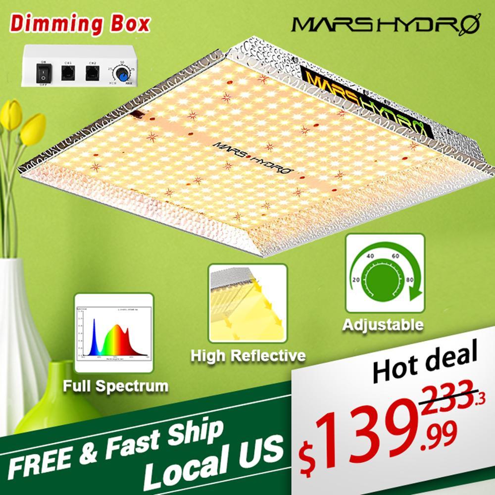 Led Grow Light TS 1000W Full Spectrum Mars hydro Quantum Board Indoor Hydroponics plant light Greenhouse flower grow lights lamp(China)