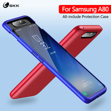 GKK 3 in 1 Original for Samsung Galaxy A80 Case 360 Full Protection Anti knock Matte Hard PC Cover for Samsung A80 Case Coque