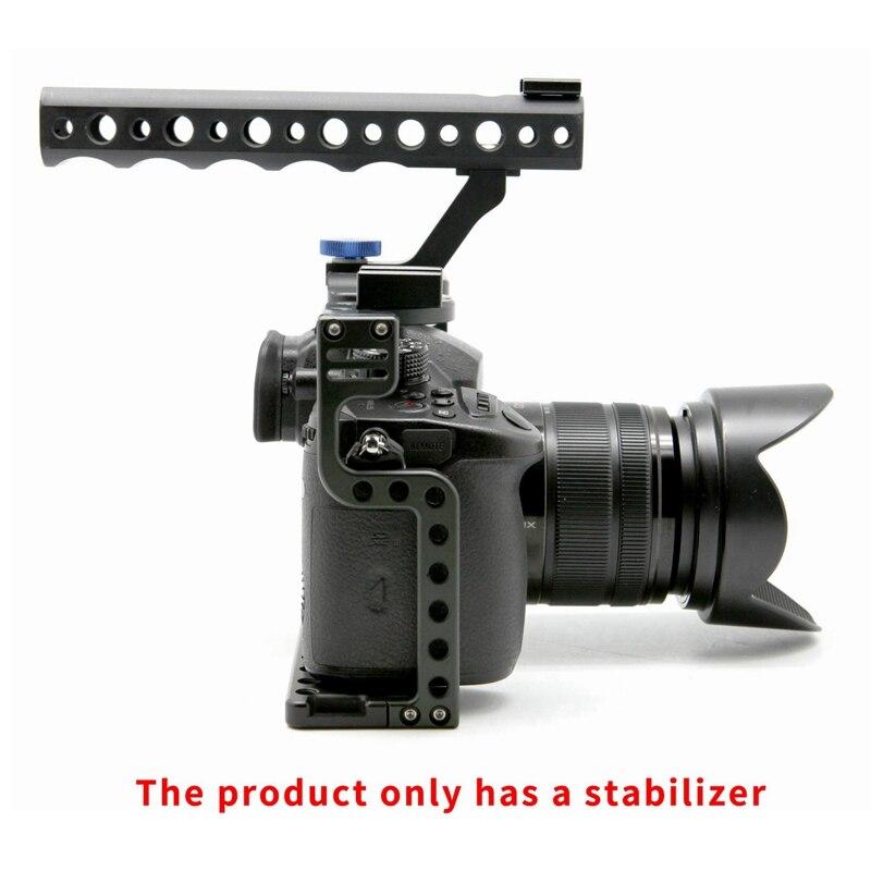 Penstabil kandang kamera, kandang video kamera paduan aluminium untuk - Kamera dan foto - Foto 6