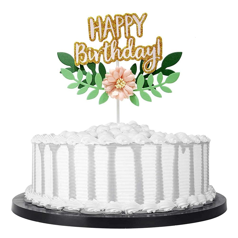 Happy Birthday  Attic Window Table Topper
