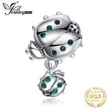 JewelryPalace Коровка 925 стерлингового серебра бисером прелести браслет оригинал Оригинал для изготовления ювелирных изделий