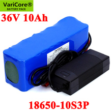 36V 10000mAh 18650 Lithium Battery pack 300W 500W 750W 20A BMS Motorcycle Electric Car Bicycle Scooter with 42V 2A Charger