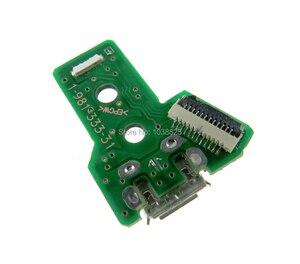 Image 2 - 50pcs JDS 055 050 001 011 030 040 USB พอร์ตชาร์จ Socket Power Charger Board 12PIN สำหรับ Playstation 4 PS4 Pro Controller