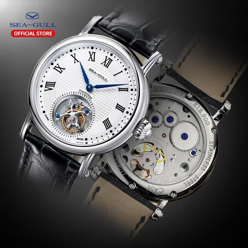 seagull watch men tourbillon mechanical watch sapphire watch tourbillion watch skeleton watches designer watch stainless steel