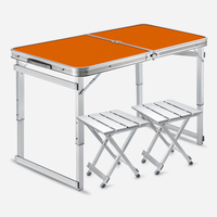 Portable Outdoor Portable Aluminum Alloy Portable Folding  Simple  Light and Stable Folding Table|  -