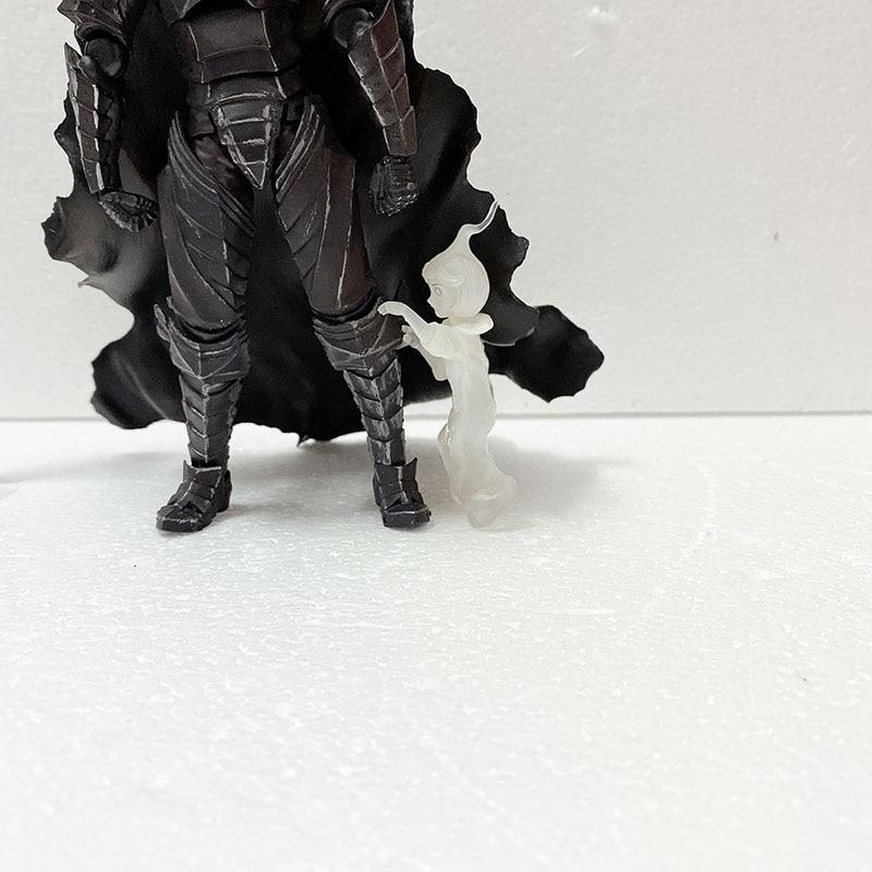Figma 410 berserk preto espada figura de