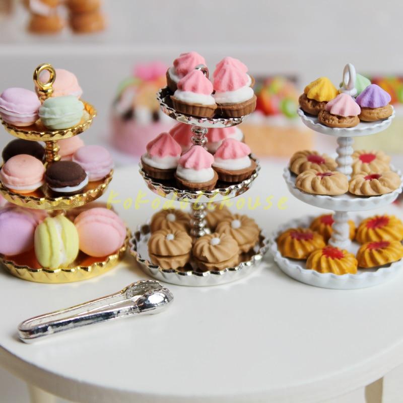 Dollhouse Miniature cake scale 1:12