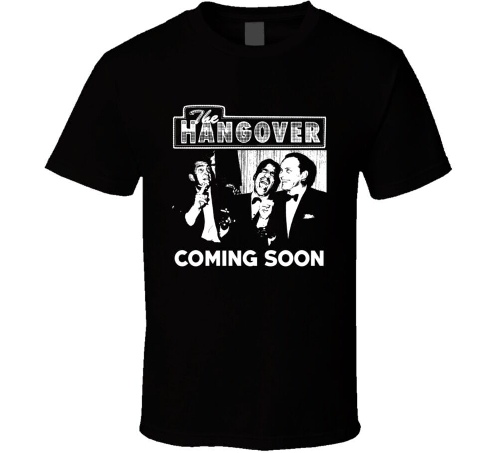 The Hangover Rat Pack Parody Movie Funny Fan T Shirt New Tops 2019 Print Letters Men T-Shirt image