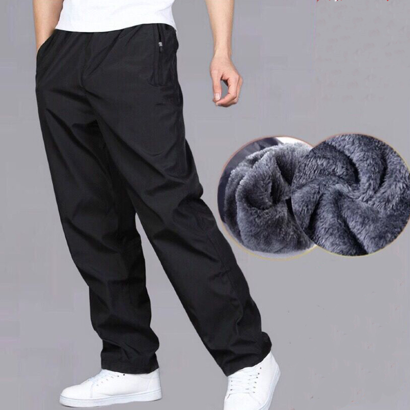 Trousers Pant Wear-Resistant Velvet Loose Autumn Winter Summer Straight Quick-Drying title=