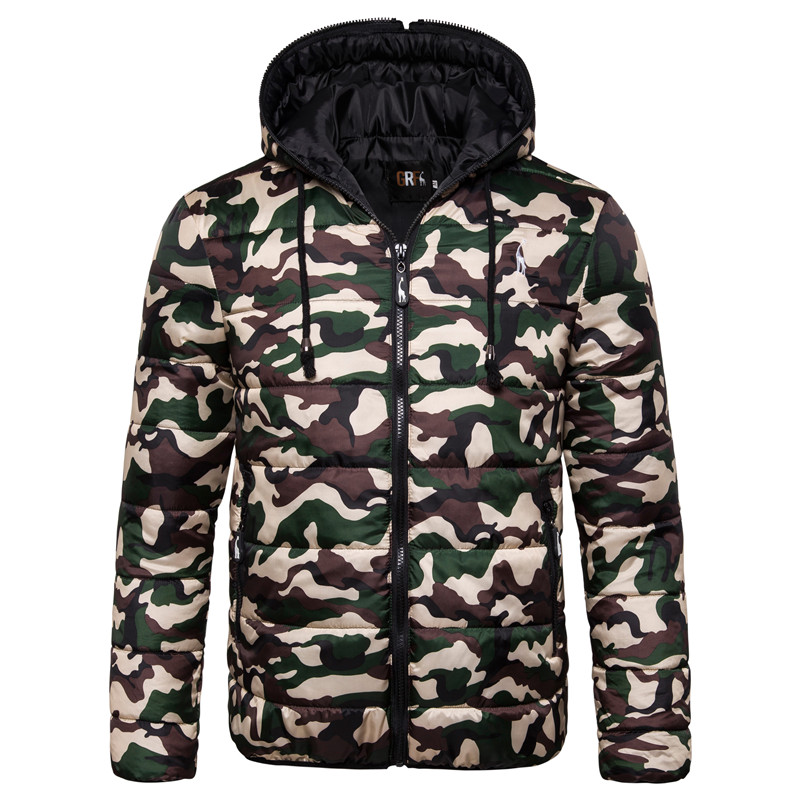 2020 New Waterproof Winter Jacket Men Hoodied Parka Men Warm Winter Coat Men Thicken Zipper Camouflage Mens Jackets