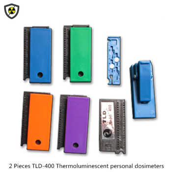 Genuine 2 pieces TLD-400 thermoluminescent personal dosimeters x-ray, gammag-ray radiation detection dose card - DISCOUNT ITEM  10% OFF All Category