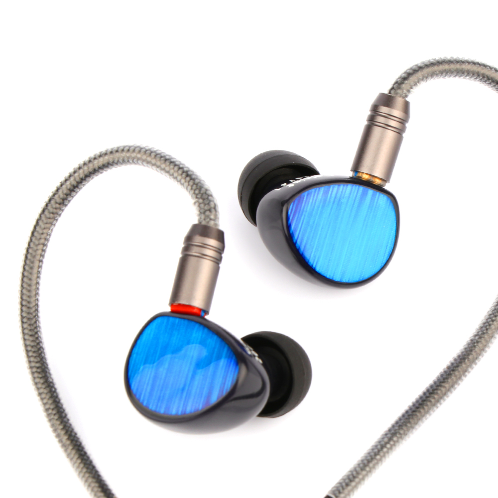 Shuoer Soloist Liquid Silicone Kevlar Driver HiFi In-ear Earphones With 6N OCC 2Pin Cable For Audiophiles Musicians