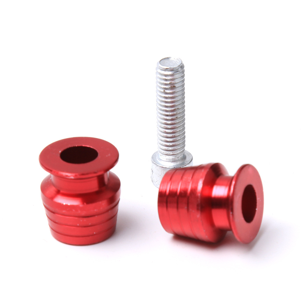 Scooter Motorcycle Gasket Zero Accessories Modified Accessories Car Body Decoration Screw Color Screw Clip 6 Mm