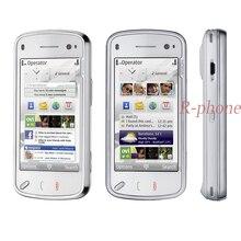 Nokia N97 32GB мобильный телефон разблокирован 3g Wifi 5MP gps смартфон и один год гарантии