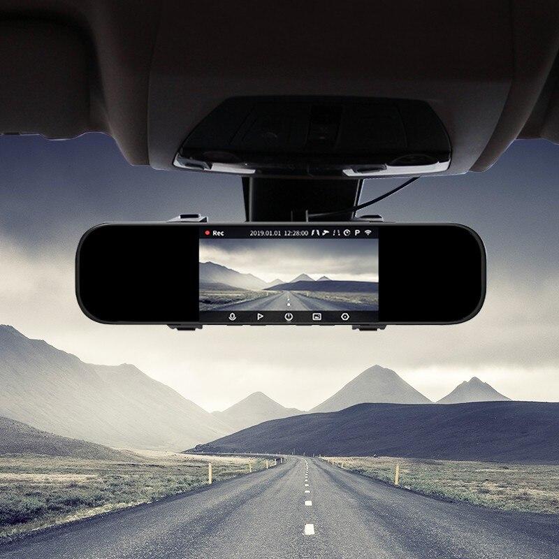 Xiaomi 70mai, зеркало, Автомобильный видеорегистратор 1600P 140FOV, ночное видение, 70 МАИ, зеркало, автомобильная камера, регистратор, 24 часа, монитор парковки, 70mai, зеркало, видеорегистратор - 2