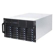 6U стойка с горячей заменой шасси 48 отсеков HDD IPFS cloud storage сервер чехол для облачных вычислений S665-48 6 ГБ 12 Гб Расширенная плата