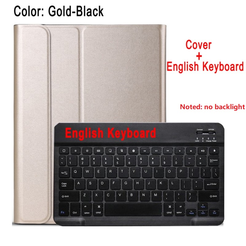 gold with black Red For IPad 10 2 8 7 Generation 8th 2020 Case A2200 A2198 A2232 Slim Magnetic Bluetooth