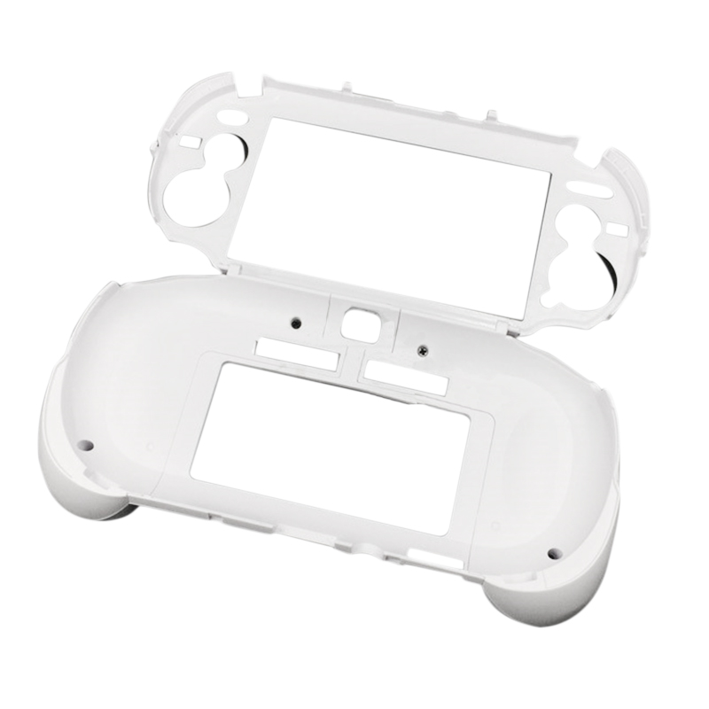 Hot 3C-Matte Hand Grip Handle Joypad Stand Case with L2 R2 Trigger Button For PSV1000 PSV 1000 PS VITA 1000 Game Console White