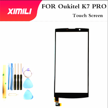 6inch Black outer glass For oukitel k7 pro Cell Phone Front Outer Glass Lens Repair Touch Screen k 7 pro no lcd +tools