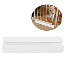 Child Safety Gate Fixed plate Baby Fence Reinforcement Groove Stairs Barrier Fence Pet Dog Fence Pole Isolation Fixed plate