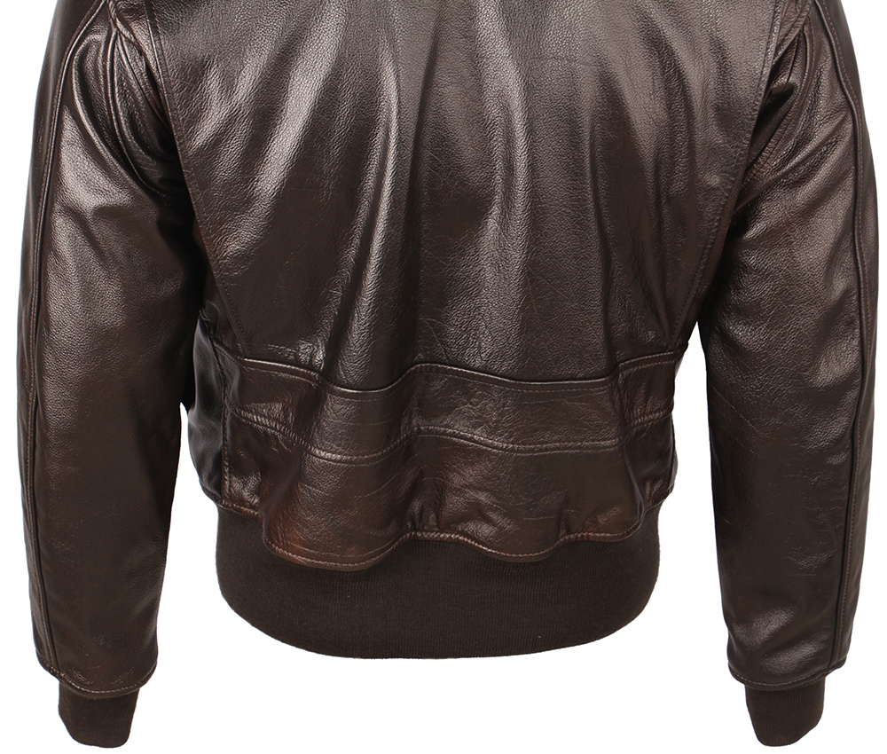 H2405e8769bc9417e81aacbe7822427f6Y Vintage Distressed Men Leather Jacket Quilted Fur Collar 100% Calfskin Flight Jacket Men's Leather Jacket Man Winter Coat M253