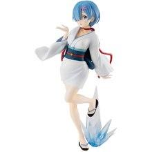 Yeniden sıfır başlangıç ömrü başka bir dünya Rem Yuki otoko peri Tall serisi PVC Action Figure Anime şekilli kalıp oyuncak koleksiyonu bebek