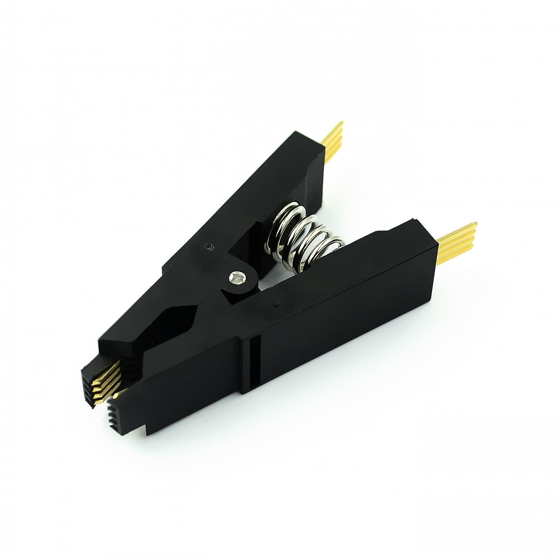 Программатор, тестовый зажим SOP8 SOP16 SOP SOIC 8 soic 16soic8 SOIC16 SOIC8 DIP16 DIP 8 Pin DIP 16 Pin IC, тестовый зажим без кабеля|Интегральные схемы|   | АлиЭкспресс