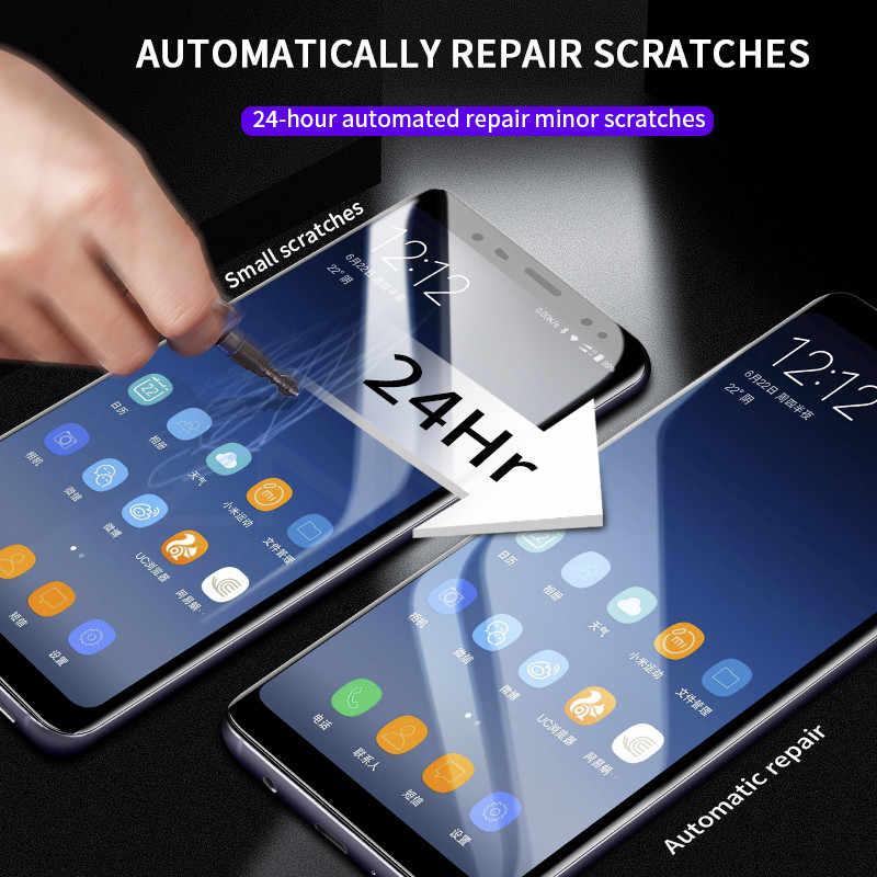 Full Mềm Mại Bảo Vệ Màn Hình Hydrogel Cho Samsung Galaxy S20 S10 S9 S8 Plus Cho Samsung Note 10 9 Plus s20 Cực S10 5G Bộ Phim