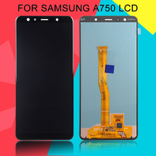 купить Dinamico 6.1inch A7 2018 Lcd For Samsung Galaxy A7 2018 Lcd Screen Touch Digitizer Assembly A750 A750F SM-A750 Display+Tools по цене 3431.9 рублей