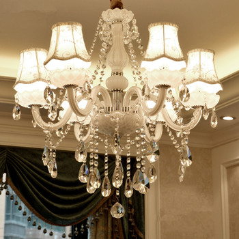 Modern Crystal chandeliers for Livingroom Bedroom Kitchen K9 Crystal lamp lamparas de techo colgante moderna ceiling chandelier