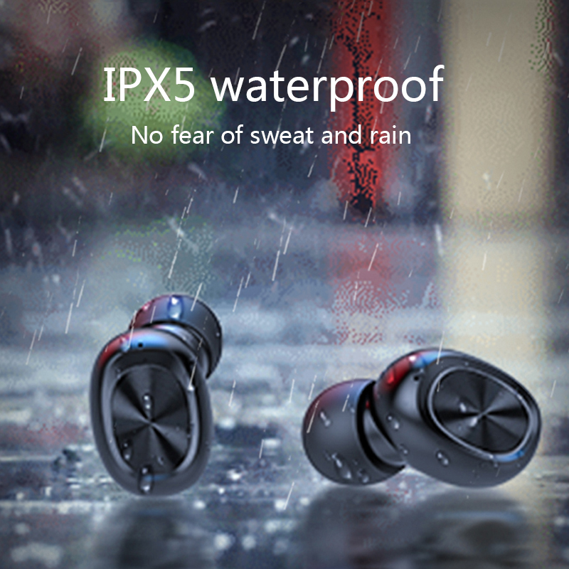 3D Stereo Wireless Bluetooth Earphone Sports waterproof Earphones Wireless Headphones for Xiaomi Huawei Touch Bluetooth Earbuds