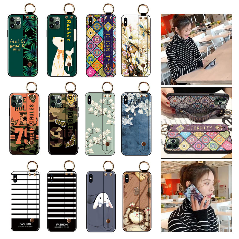 SoCouple Standing Phone Holder Case For Samsung Galaxy With Wrist Strap Case 3
