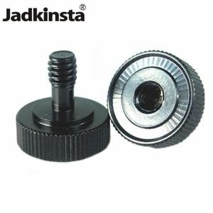 "Image 1 - Jadkinsta 50PCS 1/4 ""수나사 카메라 및 플래시 브래킷 용 1/4"" 암 마운트 나사 어댑터"