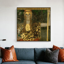 Классический художественный постер gustav klimt pallas athena