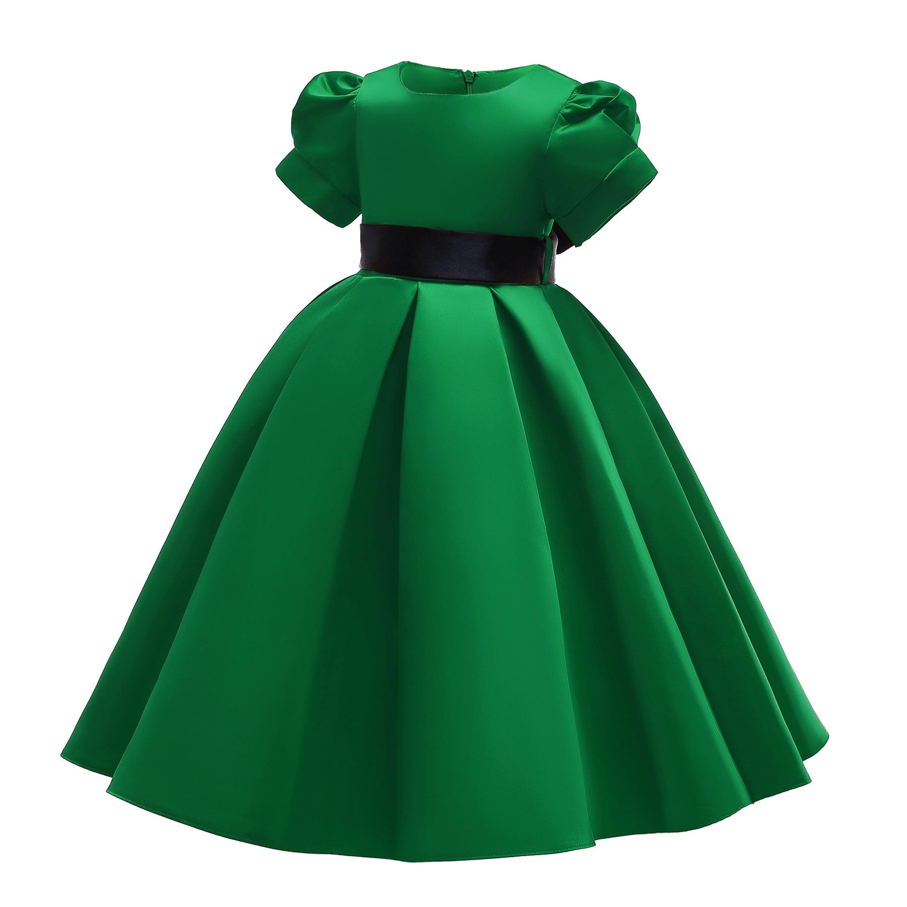 New Style Children Shirt Girls Dress Children Wedding Dress Flower Boys/Flower Girls Children Shirt Long Skirts