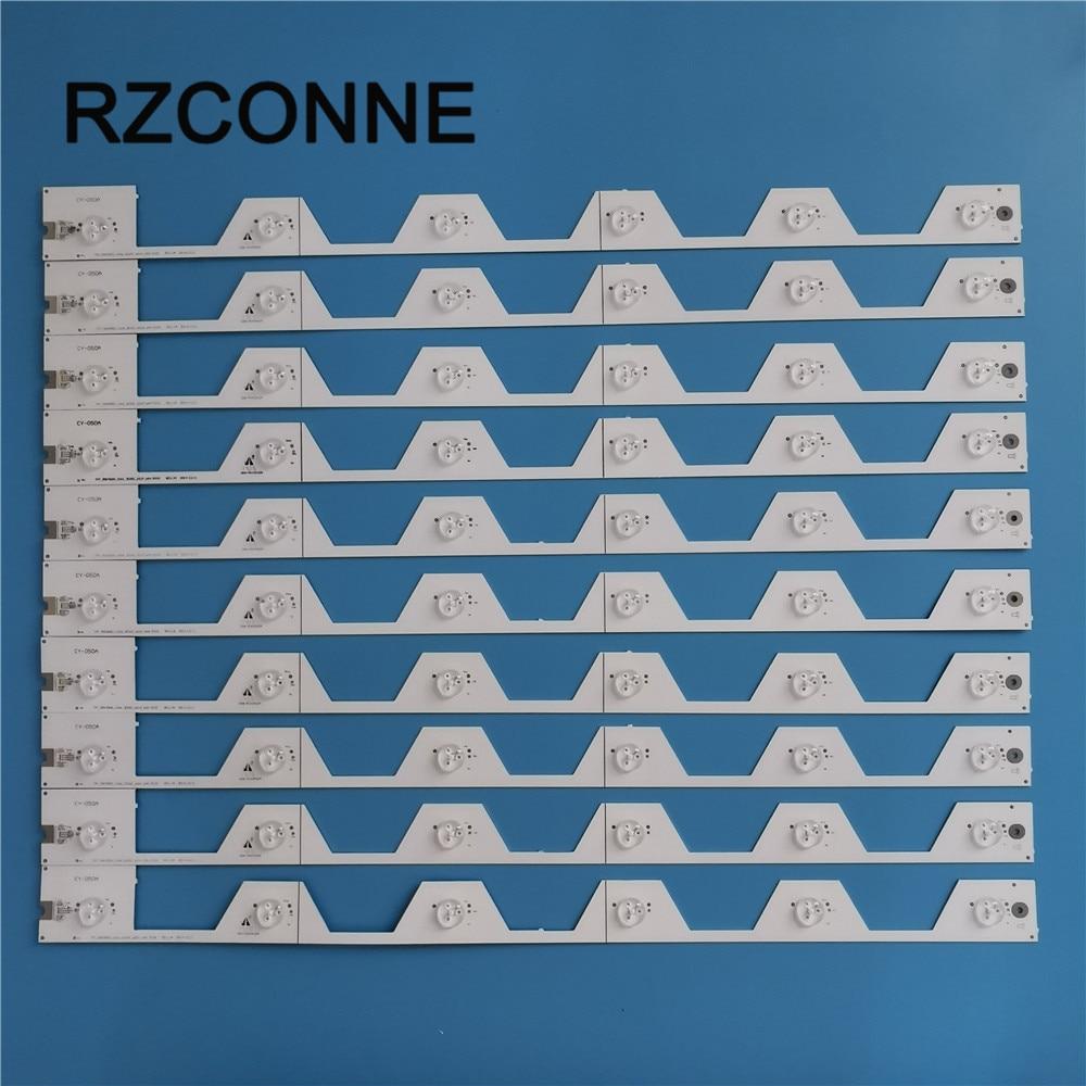 LED Strip For TCL 55'' TV D55A561U 4C-LB5506-HR1 4C-LB5506-YH1 55HR330M06A1 B55A858U D55A561U B55A658U B55A558U 55E5800A-UD