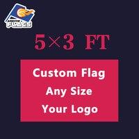 5x3 фута бесплатный дизайн под заказ LGBT флаг 100D полиэстер 150X90 см пользовательские баннеры все логотипы и цвета и размеры 2019 Новинка