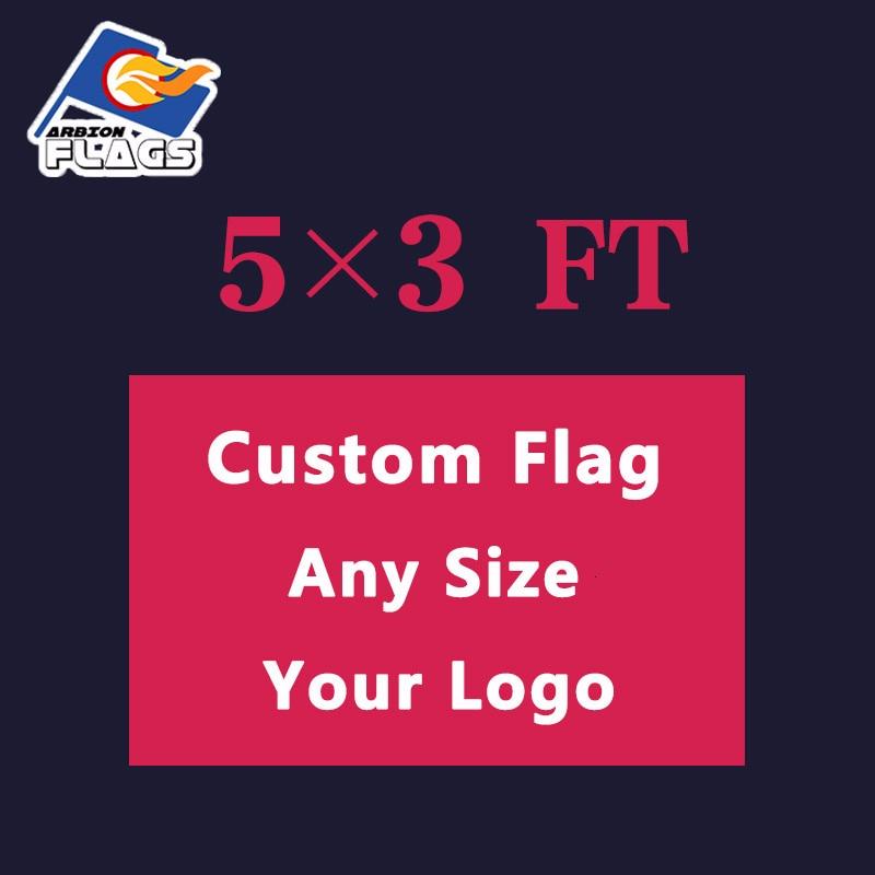5x3 FT Freies Design Anpassen LGBT Flagge 100D Polyester 150X90cm Benutzerdefinierte Banner Alle Logos und farben und Größen 2019 Neue
