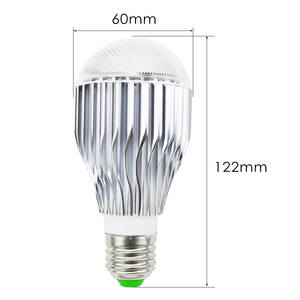 Image 3 - E27 16 head color changing bulb 110V 220V festival dimming bundi stage light + 24key suitable for home infrared remote control